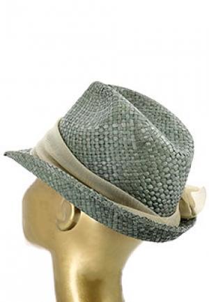 Шляпа EMPORIO ARMANI. Цвет: зеленый