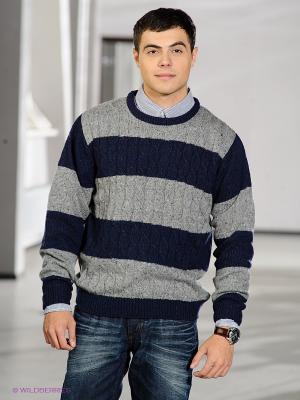 Джемпер Baon. Цвет: серый, синий
