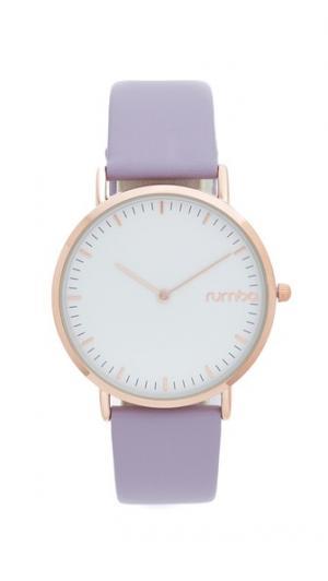 Часы SoHo Lilac с кожаным ремешком RumbaTime