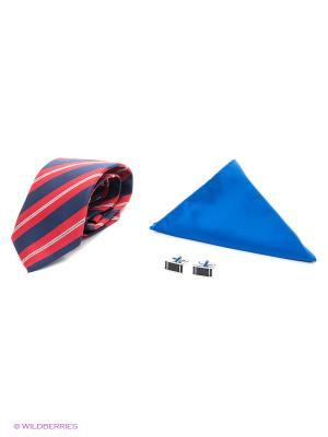 Набор Alex DANDY. Цвет: бежевый, бордовый, красный