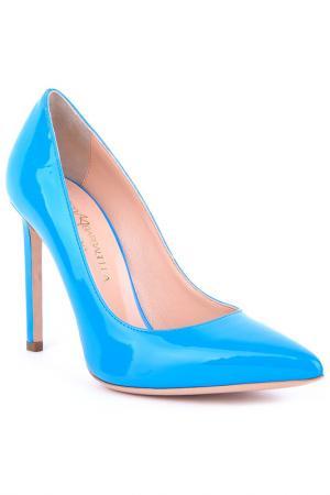 Туфли-лодочки Marco Barbabella. Цвет: синий