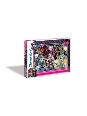 Clementoni. Monster High Будь Монстром. Пазл. Clementoni. Цвет: черный, синий, розовый