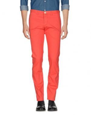 Повседневные брюки CANTARELLI. Цвет: красный