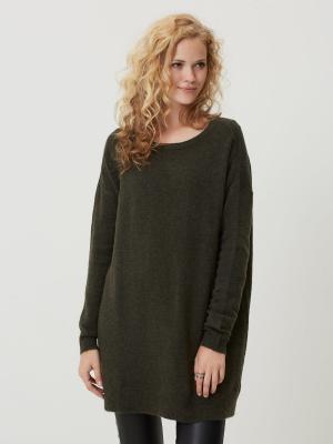 Туника Vero moda. Цвет: серо-зеленый