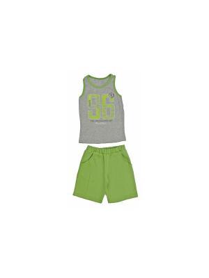 Комплект одежды РОССИЙСКИЙ ТРИКОТАЖ. Цвет: зеленый