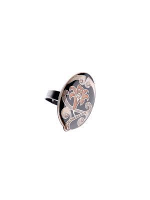 Кольцо Clara Bijoux. Цвет: черный, коричневый, серый