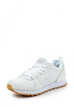 Кроссовки Skechers. Цвет: белый