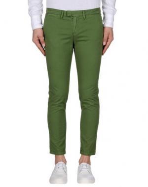 Повседневные брюки HAIKURE. Цвет: зеленый-милитари
