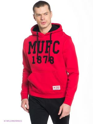 Худи Manchester United FC Atributika & Club. Цвет: красный, черный