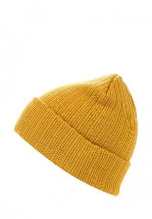 Шапка Topman. Цвет: желтый