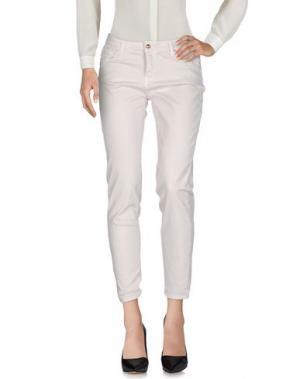 Повседневные брюки FRACOMINA. Цвет: светло-серый