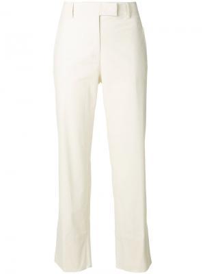 High-waisted trousers Cividini. Цвет: телесный