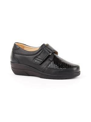 Ботинки ортопедические GELD. Цвет: черный