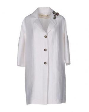 Легкое пальто SHIRTAPORTER. Цвет: белый