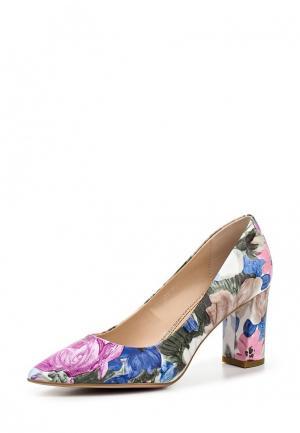 Туфли Covani. Цвет: разноцветный