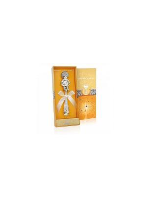 Погремушка Кукла пр.925+футляр АргентА. Цвет: серебристый