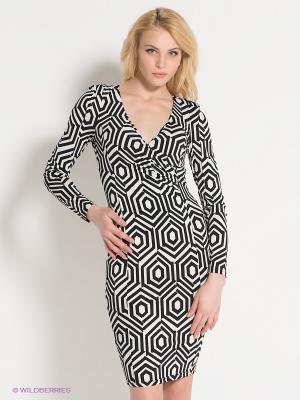 Платье AX Paris. Цвет: черный, белый
