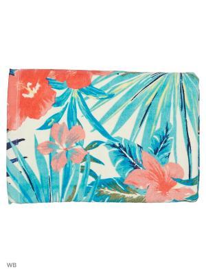 Полотенца пляжные ROXY. Цвет: молочный, бирюзовый, розовый