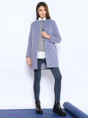 Пальто Colambetta. Цвет: фиолетовый