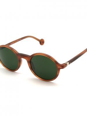 Солнцезащитные очки HS 540S 04 HALLY & SON. Цвет: коричневый