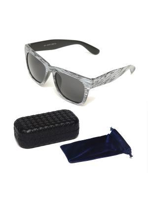 Очки солнцезащитные + чехол футляр Prius. Цвет: черный, белый