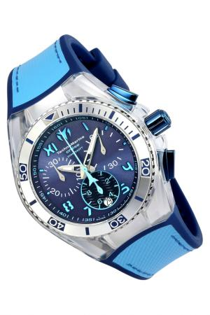 Watch TechnoMarine. Цвет: silver, blue