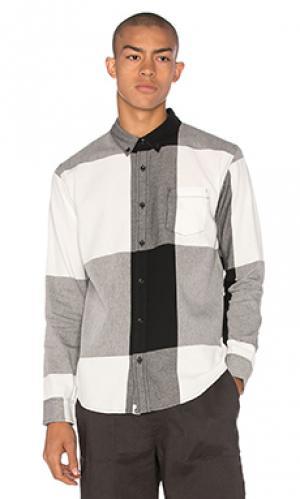 Рубашка brant ourCASTE. Цвет: black & white