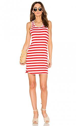 Спортивное платье Susana Monaco. Цвет: красный