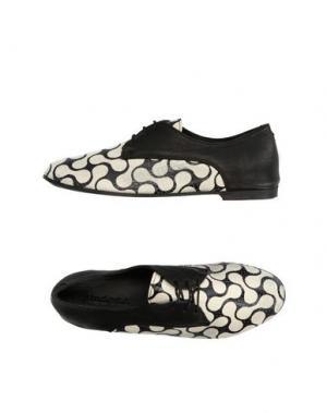 Обувь на шнурках KUDETÀ. Цвет: белый