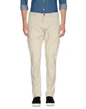 Повседневные брюки BRIGLIA 1949. Цвет: слоновая кость