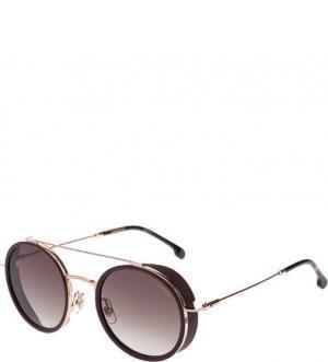 Неполяризованные солнцезащитные очки Carrera. Цвет: золотистый