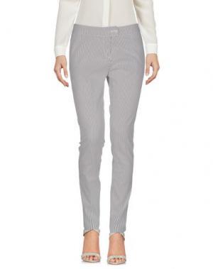 Повседневные брюки PAOLO CASALINI. Цвет: светло-серый