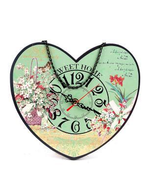 Часы настенные Русские подарки. Цвет: морская волна