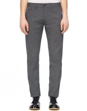 Классические брюки Marc Jacobs. Цвет: серый