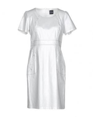 Короткое платье PAUSE CAFÉ. Цвет: белый