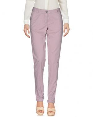 Повседневные брюки MAISON SCOTCH. Цвет: сиреневый