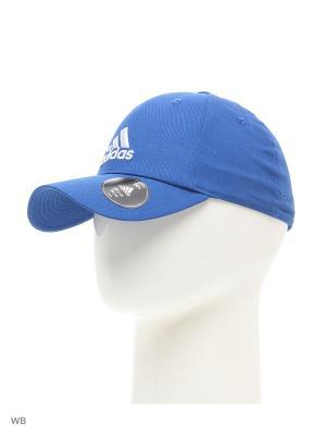 Бейсболка PERF CAP CO  EQTBLU/EQTBLU/WHITE Adidas. Цвет: синий, белый