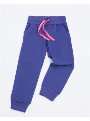 Брюки Mark Formelle. Цвет: фиолетовый, розовый
