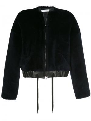 Куртка Brume Inès & Maréchal. Цвет: чёрный