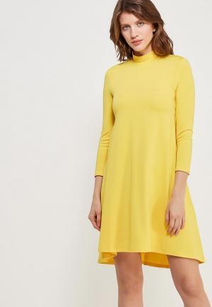 Платье Ruxara. Цвет: желтый