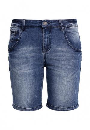 Шорты джинсовые Broadway. Цвет: синий