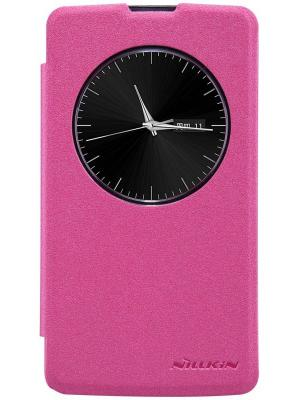 Lg D295 (L Fino) Nillkin Sparkle Leather Case. Цвет: красный