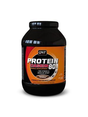 Протеин PRO 80 (шоколад), 750 г QNT. Цвет: черный, оранжевый, белый