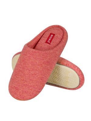 Тапки женские SOXO. Цвет: розовый