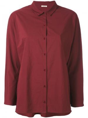 Свободная рубашка Apuntob. Цвет: розовый и фиолетовый