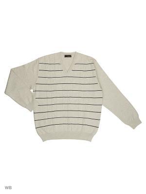 Пуловер FILPUCCI. Цвет: серый меланж