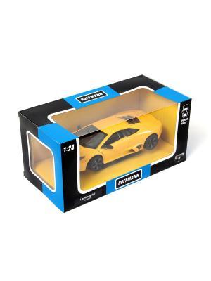 Машина металлическая Lamborghini Reventon 1:24. HOFFMANN. Цвет: желтый