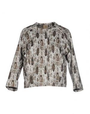 Куртка SO NICE. Цвет: светло-серый