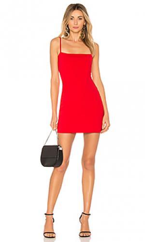 Платье laurie Susana Monaco. Цвет: красный