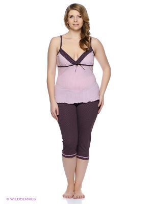 Комплект одежды Mare Bella. Цвет: розовый